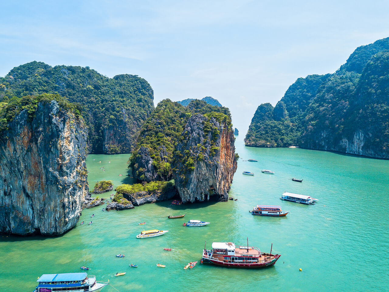 Best Phang Nga Bay Tour with Lunch